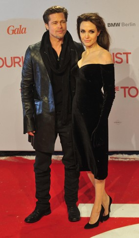 Brad and Angelina at The Tourist premiere