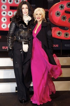 Christina Aguilera and Cher
