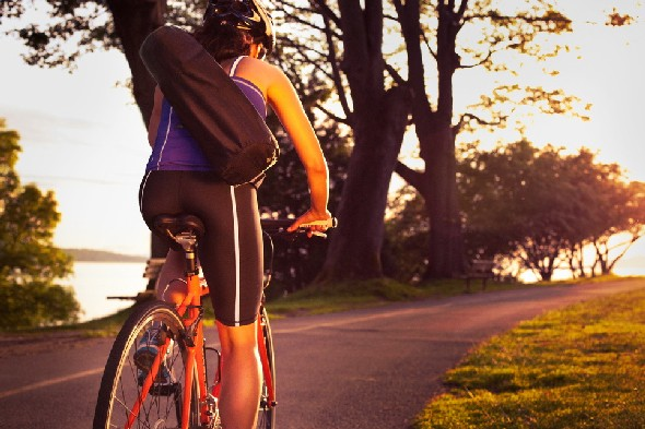 Start cycling when the roads are less icy