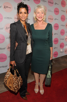 Halle Berry and Hellen Mirren at The Hollywood Reporter's
