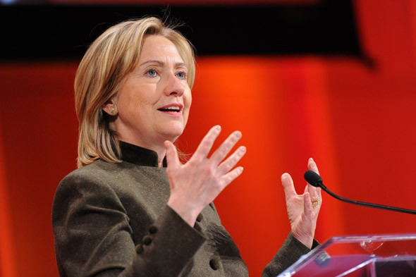 Secretary of State Hillary Clinton at TED Women