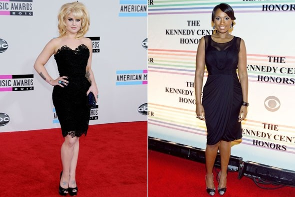 Kelly Osbourne Jennifer Hudson best Celebrity Body 2010