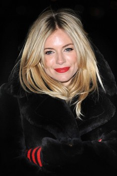 Sienna Miller World Aids Day