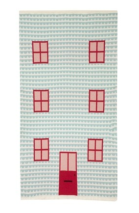 donna wilson; boutique of the week; play house blanket; textiles