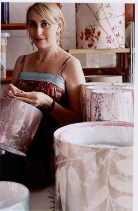 clarissa hulse; textile designers; boutique of the week; printed lampshades