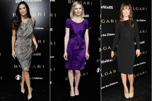Red carpet report: Bulgari's bombshells