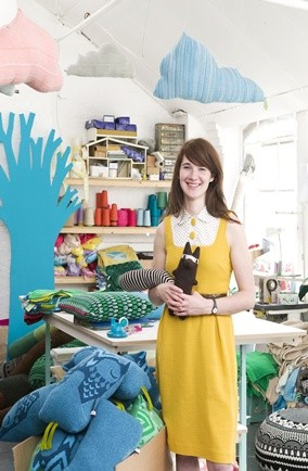 donna wilson; british esign award winner; knitted dolls; soft furnishings; boutique of the week