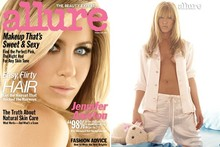 So Allure-ing! Jennifer Aniston gets a Bardot-style makeover in new magazine spread