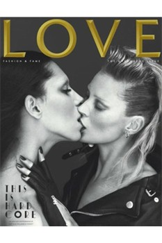 Lea T, Kate Moss Love magazine