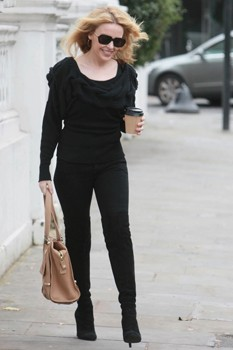 Kylie Minogue street style