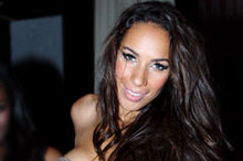 Catwoman: Leona Lewis sports winged eyeliner on New Year's Eve