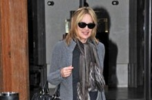 Hot or not: Sharon Stone's leather trousers