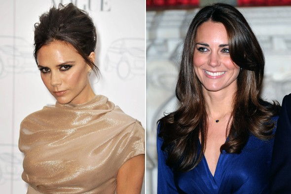 Victoria Beckham, Kate Middleton