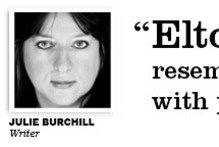 Julie Burchill on Elton John's attitude towards women
