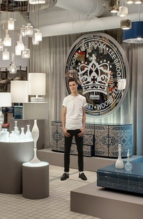 lee broom; shop at bluebird; british designers; interiors shops