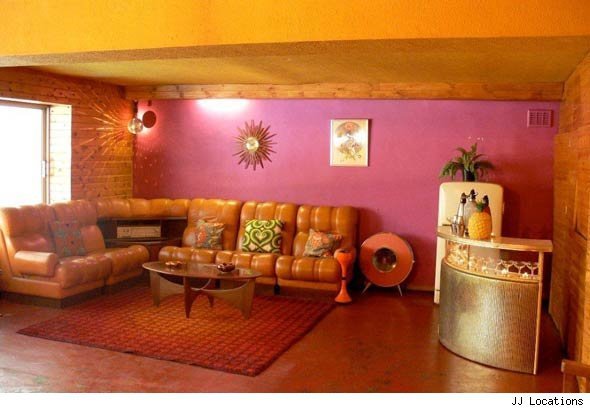 Hot houses 1970s house huffpost uk for Interior design 70s house
