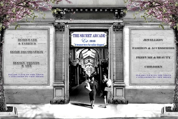 boutique of the week; the secret arcade; online shopping