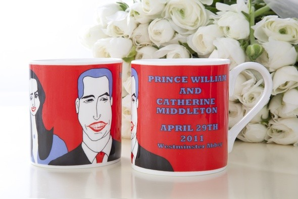 william and kate; royal wedding; royal memorabilia; cole of london
