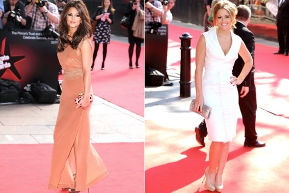 kimberley walsh and cheryl cole. Girls Aloud stars Cheryl Cole