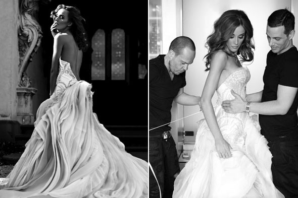 Fit for a princess: A wedding dress for Kate. By Dannii Minogue ...