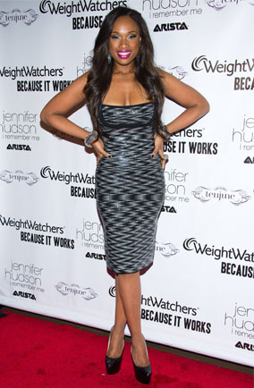 Jennifer Hudson at the launch party for I Remember Me