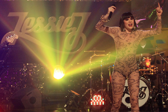 Jessie J on stage