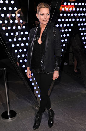 Kate Moss at W Hotel launch