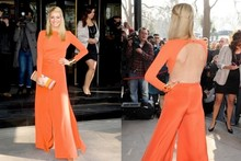 Hot or not: Tess Daly's very bright and barely-there jumpsuit