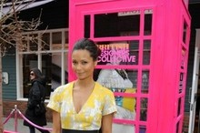 Thandie Newton wows as she launches new designer discount store at Bicester