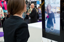 Tweet-ail therapy: Westfield unveils Tweet Mirror