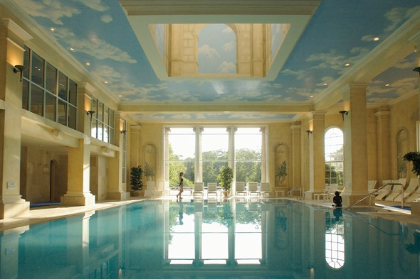 Chewton Glen pool