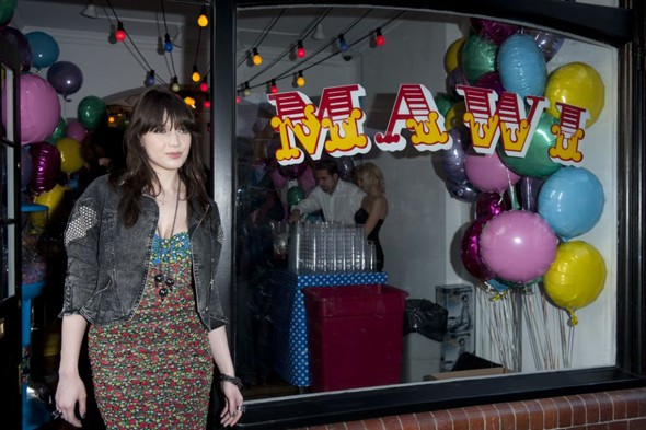 Daisy Lowe at Mawi