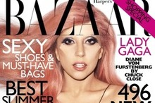Lady Gaga talks plastic surgery and wears facial horns on Harper's Bazaar