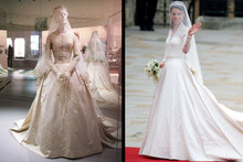 Grace Kelly vs Kate Middleton: How similar are the wedding dresses?