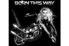 Biker chick? Lady Gaga's Born This Way album artwork revealed
