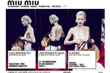 Happy shopping! Miu Miu launches e-commerce site
