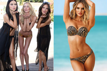 Before and after: Has this Victoria's Secret model had Photoshop treatment?