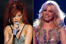 Diva duet: Rihanna and Britney team up