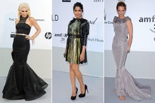 Belles of the ball: Statement style on show at amfAR Gala