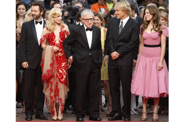 Cannes Midnight in Paris premiere
