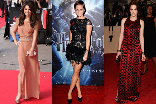 Cheryl Cole, Emma Watson and Kristen Stewart top Glamour magazine's Best Dressed women poll