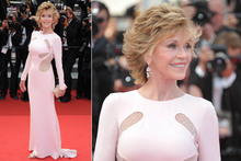What's her secret? Jane Fonda looks half her 73 years on Cannes red carpet