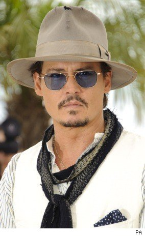 Johnny Depp at Cannes Film Festival