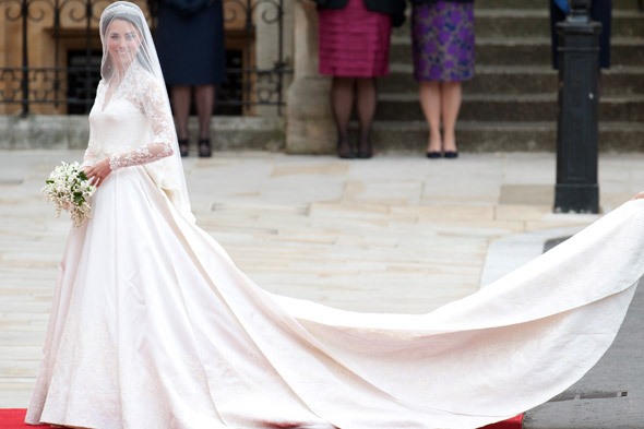 Duchess Kate's wedding dress nominated for Design of the Year