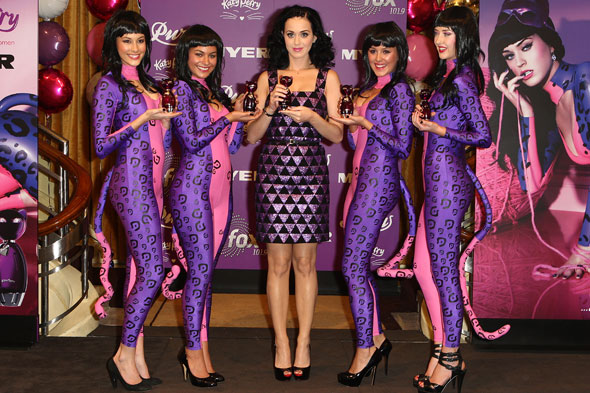 Katy Perry launches Purr in Melbourne