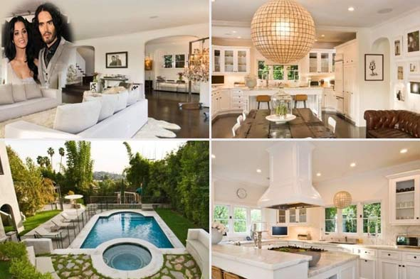Katy Perry and Russel Brand's house for sale