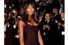 Hot or not: Naomi Campbell's frilly Cannes frock