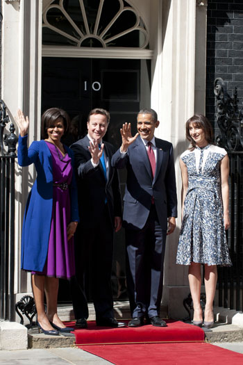 Downing Street, UK - 24 May 2011