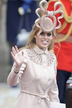 Princess Beatrice Philip Treacy royal wedding hat. Beautiful and gorgeous?