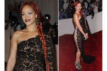 Hot or not: Rihanna's super long side plait